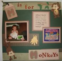 M is for Monkeys
