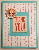 "Card ""Thank you"""