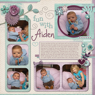 Fun with Aiden