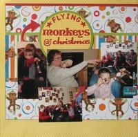 Flying Monkeys at Christmas