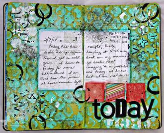 Today {My Art Journal}