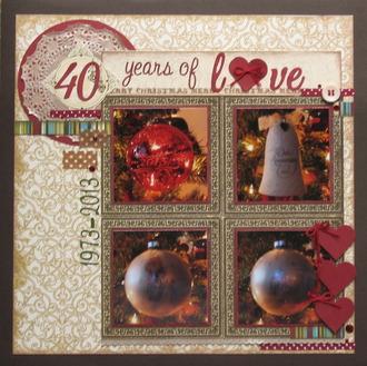 40 years of LOVE