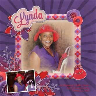 Lynda at Red Hats