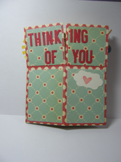 Thinking Of You (Pop-Up box card)