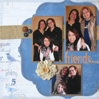 FRIENDS...who scrap