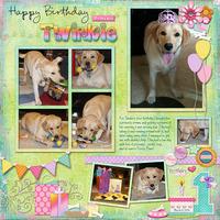 Happy Birthday Princess Twinkie