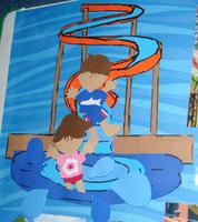 Nickelodeon Hotel Paper Piecings