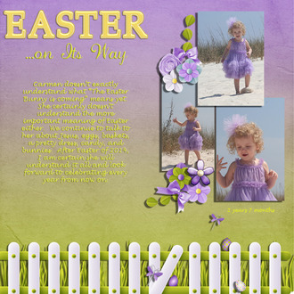 Easter...on It's Way