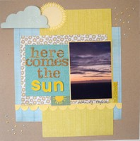 Here Comes the Sun - April Music Challenge