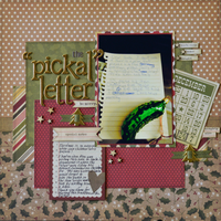 "The ""Pickal"" Letter"
