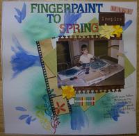 Fingerpaint to Spring