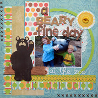A Beary Fine Day at the Zoo