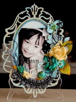 Cherish Altered Frame