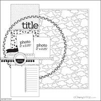 paper crafting scrapbooking sketch challenge