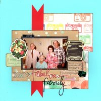 Fabulous Family (Heritage, Scraplift GD Challenges)