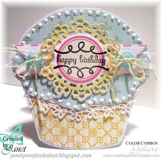 Shaped Cupcake Card {CCG216}