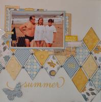 NSD Scrap Happy Challenge - Summer of '83
