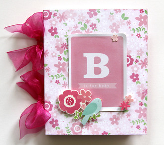 B is for Baby Mini Album *Pebbles*