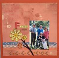 Family Time - NSD Bingo 5X5
