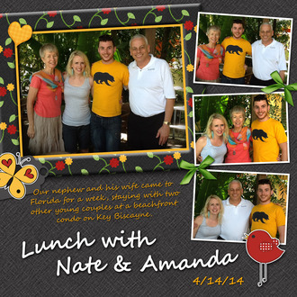 Lunch with Nate & Amanda