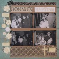 Bonnie's Baptism 1953