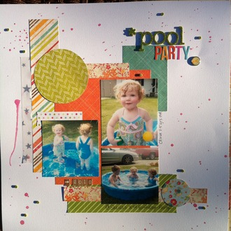 Pool Party - NSD Scrap Happy