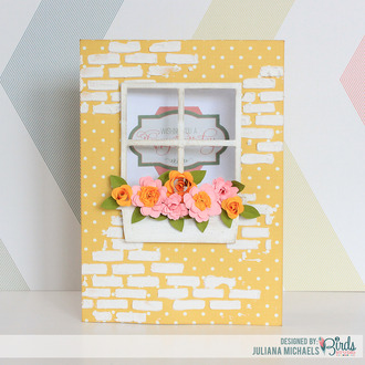 Happy Birthday Window Box Card