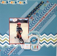 Life in the Fast Lane - May Washi Challenge