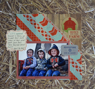 Down On the Farm - May Washi Tape Challenge