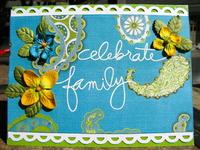 Celebrate Family Card
