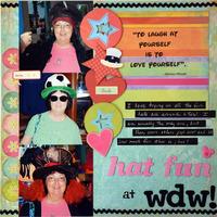 Hat Fun at WDW!