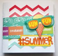 #Summer mini Album ** American Crafts**