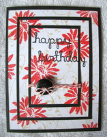 Triple Time Stamping Birthday Card