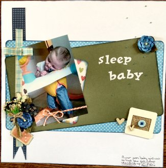 sleep baby(June 2014 Snooze Challenge)