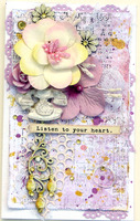Orchid, Lilac and Yellow