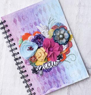 """""""Grow"""" Art Journal"""