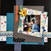Bobbie(June/July 2014 Scraplift w/a Twist Challenge)