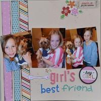 Girl's Best Friend - June Old is New Challenge