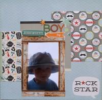 Rock Star - June Washi Challenge