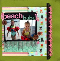 Beach Babe (Pinterest Challenge)