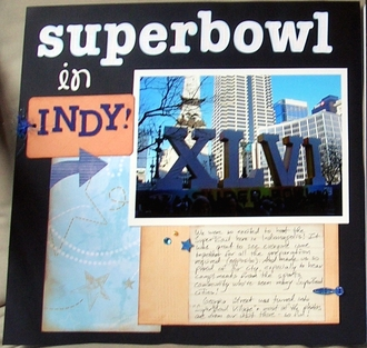 SuperBowl in Indy!
