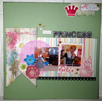 Little Princess (What's on TV, Scraplift With A Twist Challenges)