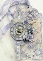 Roman Clock Tag