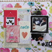 Addie Blue turns 10 *June Cocoa Daisy kit*