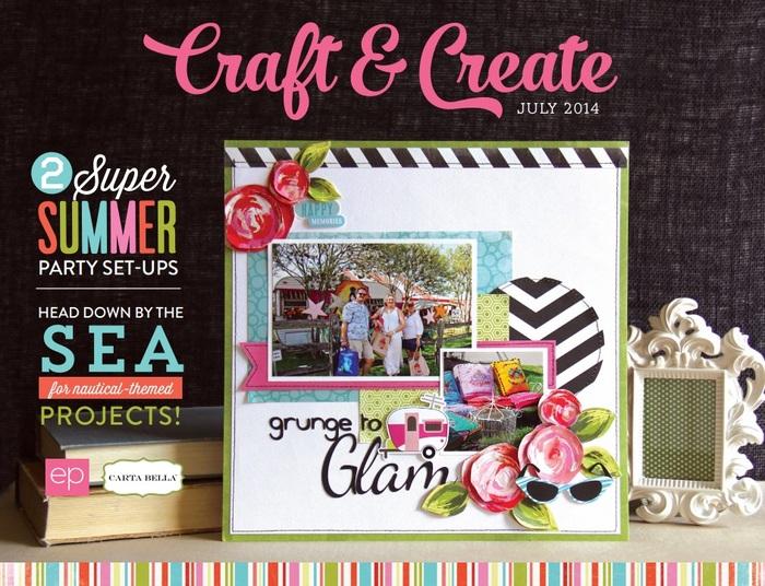Echo Park Craft & Create July Ebook