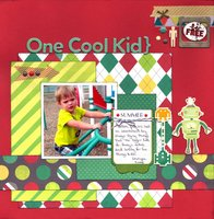One Cool Kid (Scraplift With A Twist)