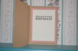Embossed Happy Birthday