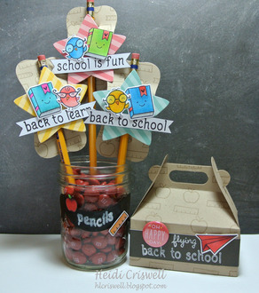 Pencil Toppers - carry all box