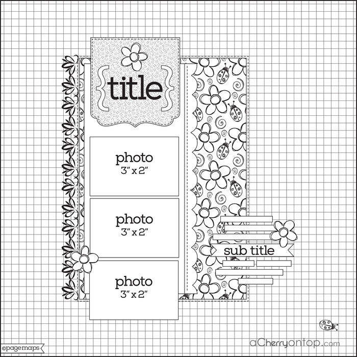 scrapbook sketch ideas