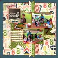 It's Your Birthday (Scraplift With A Twist, Manufacturer Challenges)